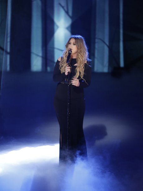 Ella Henderson performs on The Voice