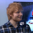Ed Sheeran Backstage Jingle Bell Ball 2014