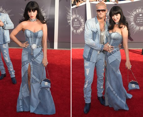 Katy Perry Crazy Outfit 2014