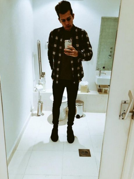 James McVey selfie