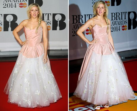 Ellie Goulding BRIT Awards 2014