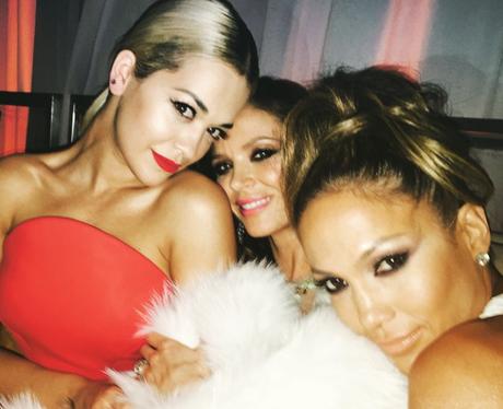 Rita Ora and Jennifer Lopez