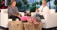 Justin Bieber on the Ellen show