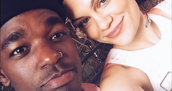 Jessie J and Luke James Selfie