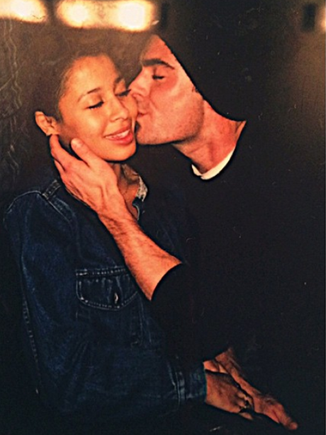 Zac Efron and Sami Miro Kiss