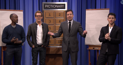 Nick Jonas Jimmy Fallon Pictionary