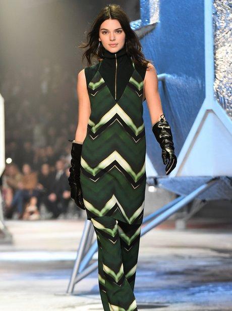 Back On The Catwalk Kendall Jenner At Paris Fashion Week