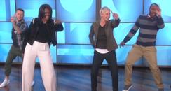 Michelle Obama Uptown Funk