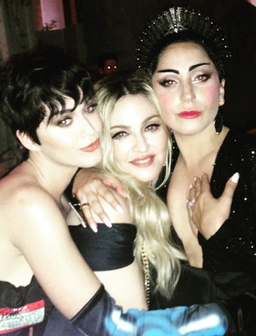 Madonna, Katy Perry and Lady Gaga at the Met Gala