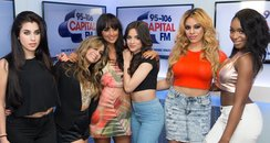 Fifth Harmony and Max Backstage Summertime Ball 20