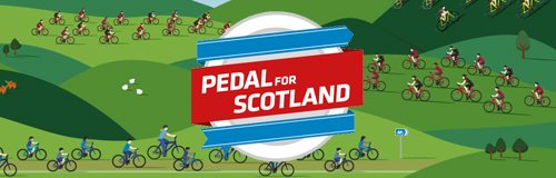 pedal for Scotland hero