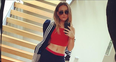 Perrie Edwards Exercise Clothes
