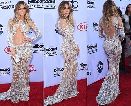 Jennifer Lopez Sheer Dress