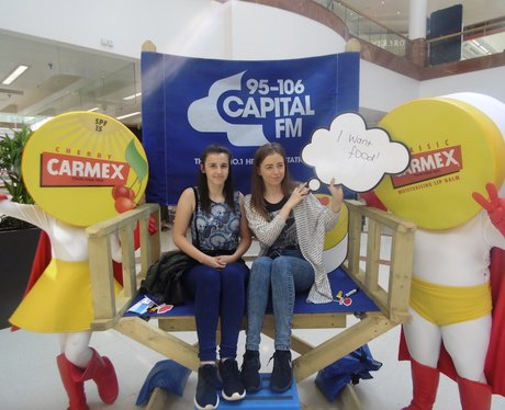 Capital having fun with Carmex!