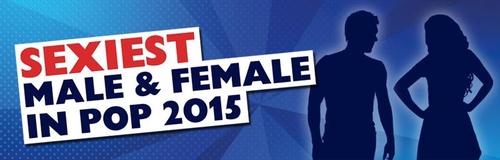 Sexiest Male & Female In Pop 2015