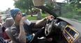 Justin Bieber driving car lake life video