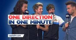 One Direction In One Minute