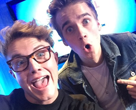 Roman Kemp with Joe Sugg on Capital
