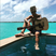 Image 6: Justin Bieber Topless Holiday Guitar