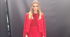 Perrie Edwards Red Outfit