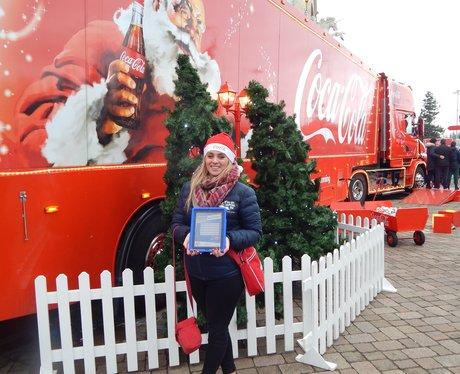 coca Cola Truck Trafford Centre 2015