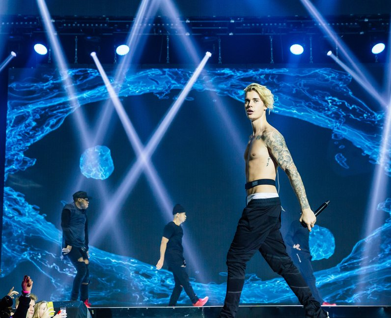 Justin Bieber Jingle Bell Ball 2015 Live