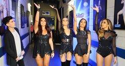 Little Mix Backstage Jingle Bell Ball 2015