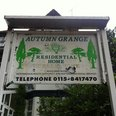 Autumn grange care home sign nottingham