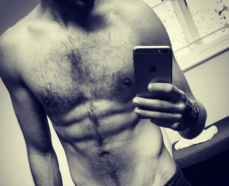 Liam Payne Topless Instagram