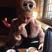 Image 5: Pixie Lott cosies up in faux fur coat