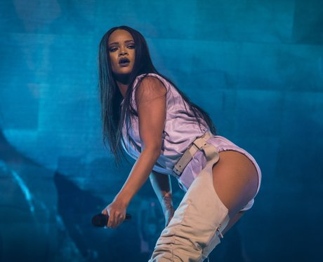 Rihanna puts on racy display in Stockholm