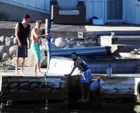 Justin Bieber does watersports in Stockholm, Swede