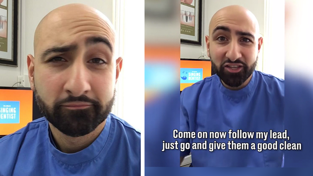WATCH: This Dentist's Parody Of Ed Sheeran's 'Shape Of You' Will Make You Smile All Day